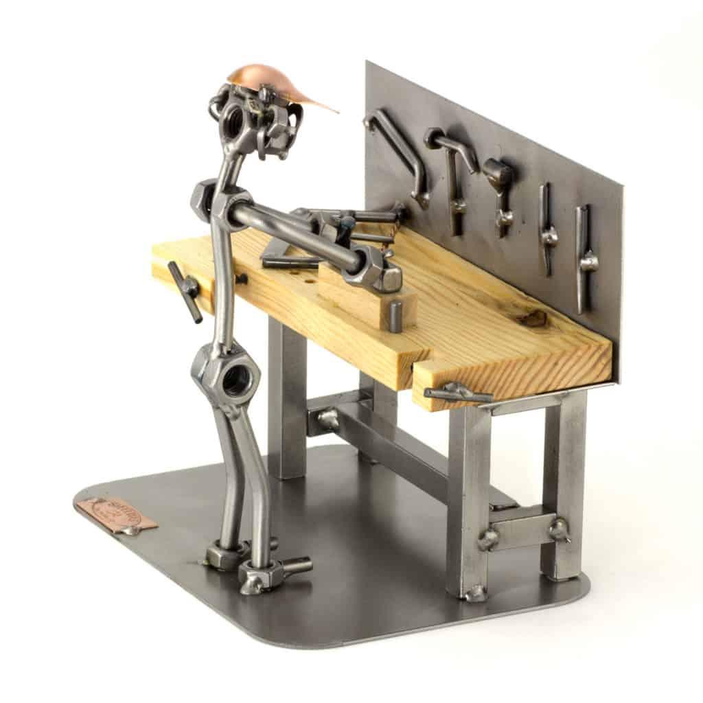 Schraubenmännchen Tischler