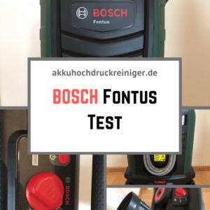 Bosch Fontus Test