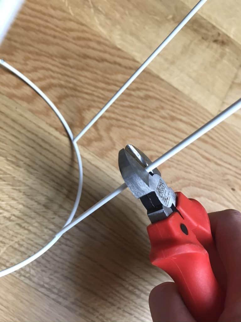 DIY Furnierlampe