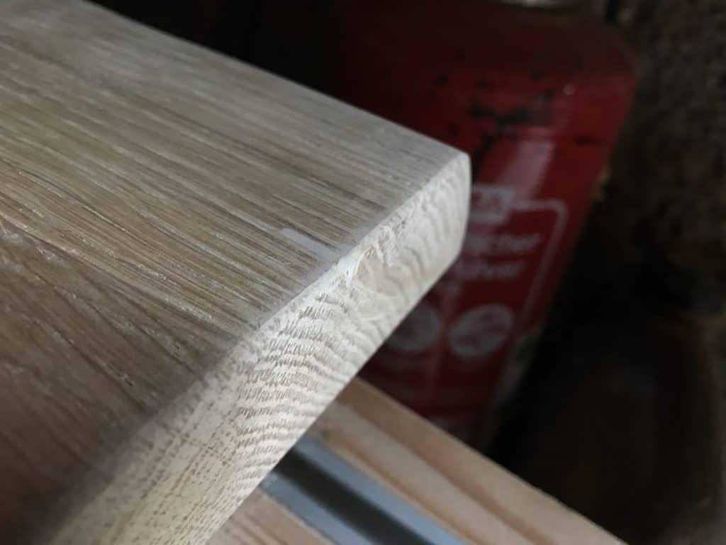 Holzkratzer entfernen Holzpaste