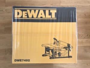 DeWalt DWE 7492 Test
