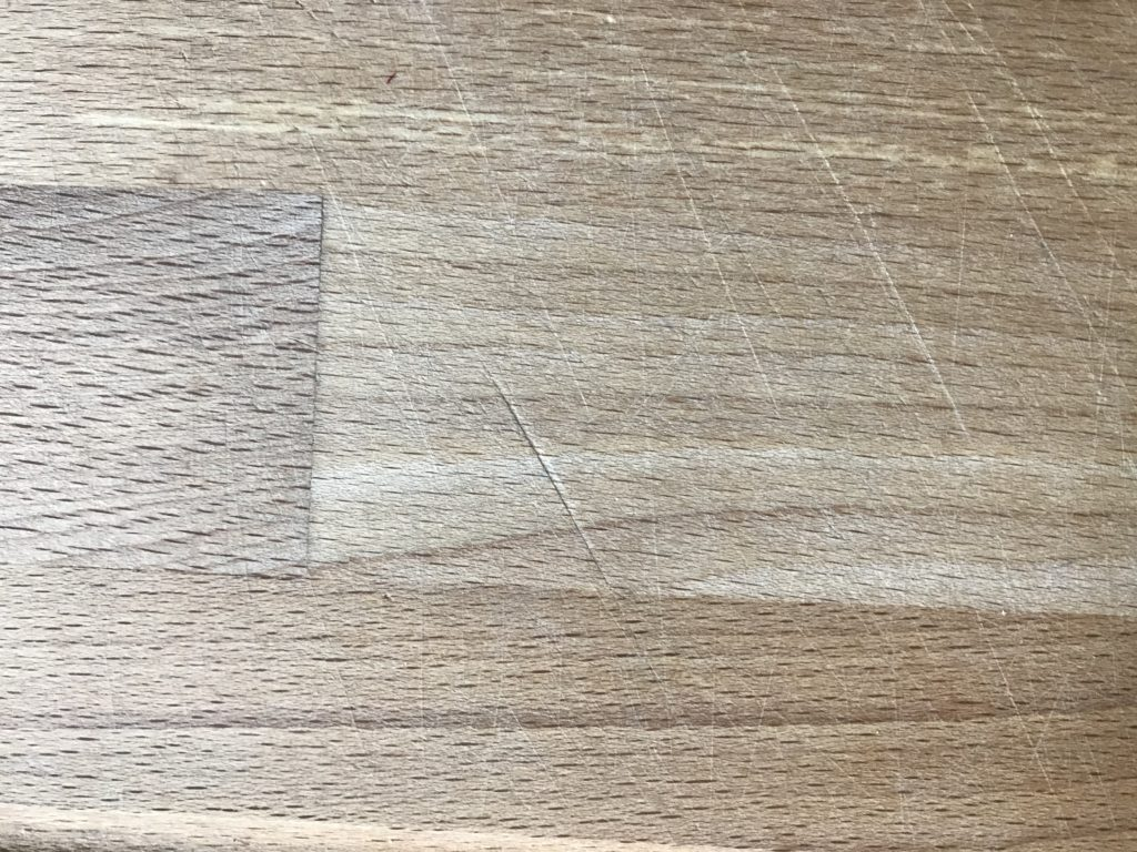 Holz Kratzer entfernen