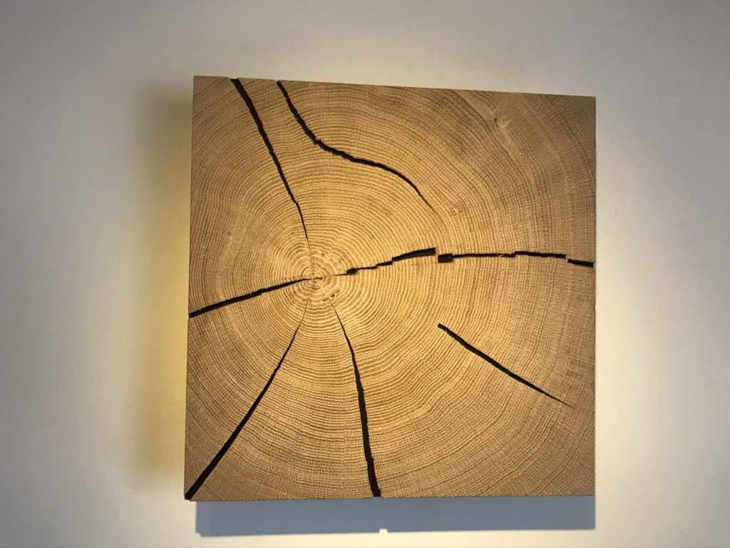 Hirnholz Lampe selber bauen