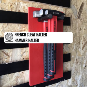 French Cleat Hammer Halter