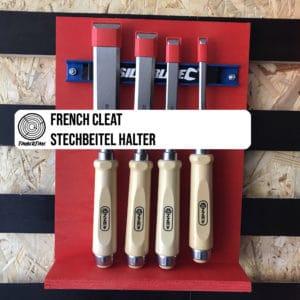 French Cleat Stechbeitel Halter