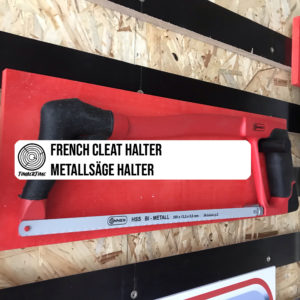 French Cleat Halter selber bauen