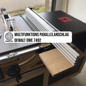 Multifunktions-Parallelanschlag für die DeWALT DWE7492
