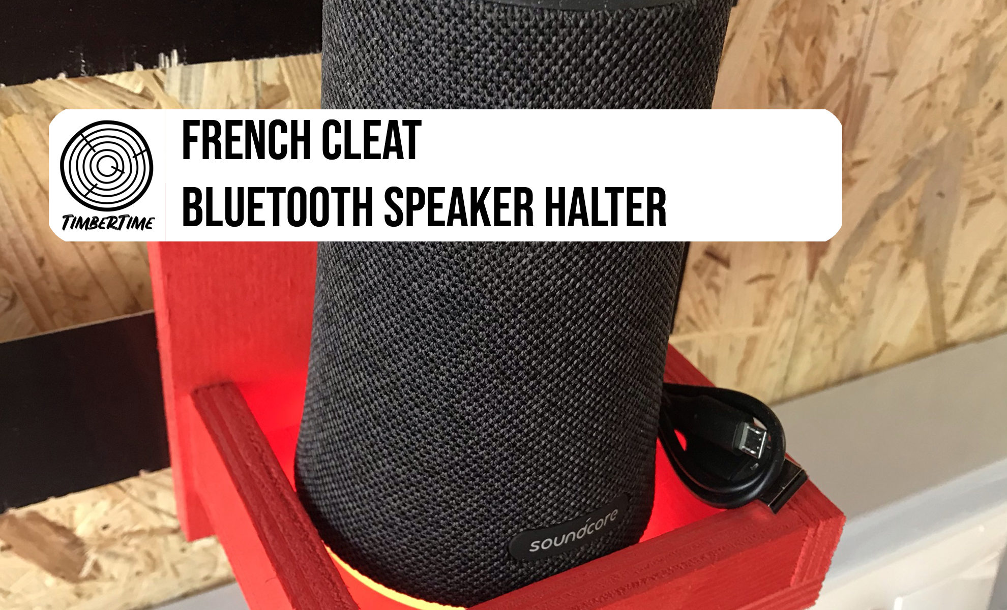 French Cleat Bluetooth Speaker